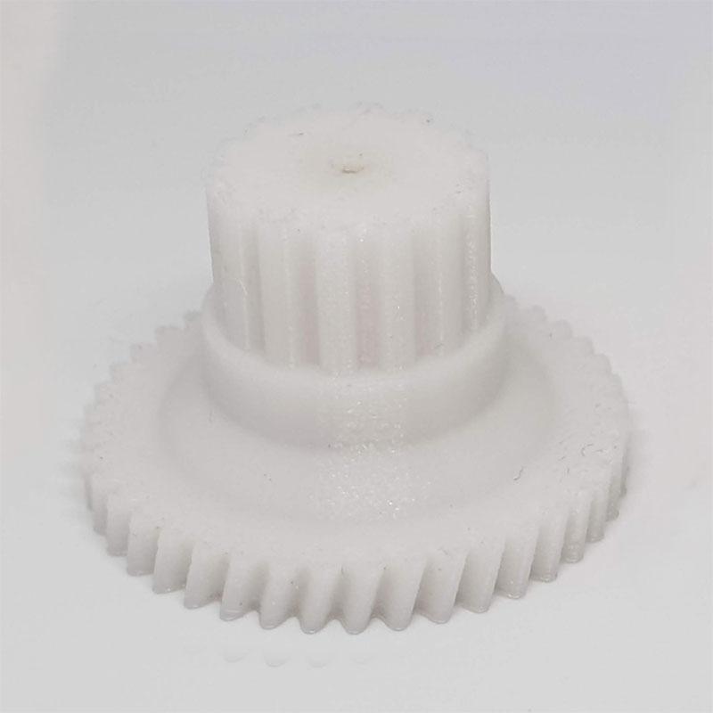 pignon trancheuse jambon réparé impression 3D modélisation