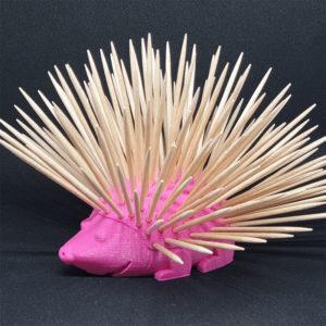 Support cure dent porc epic décoration Impression 3D PLA plastique introuvable 3D SAVOIE