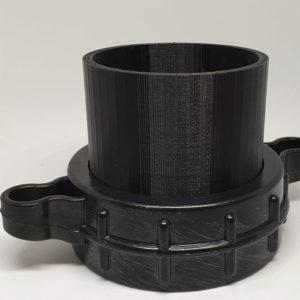 collet adaptation bride pompier moto pompe petg impression 3D savoie PETG PLA
