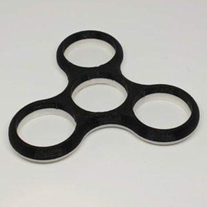 Spinner bi-couleur Fidget décoration jeu amusement enfant Impression 3D PLA plastique introuvable 3D SAVOIE