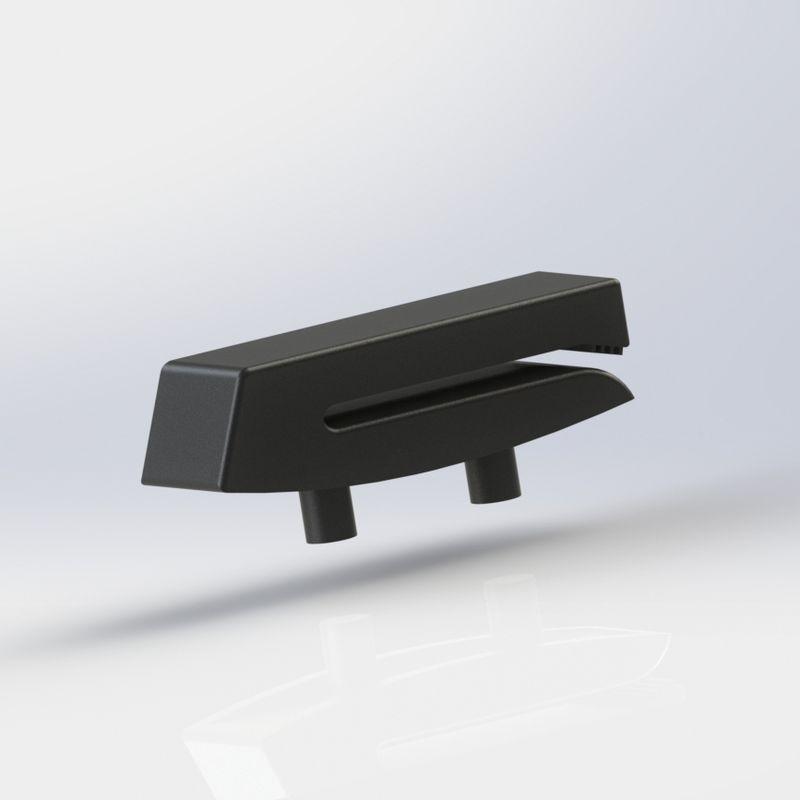 Clip de maintien pour ceinture de sécurité de 3ème rang pour Renault Grand Scenic III