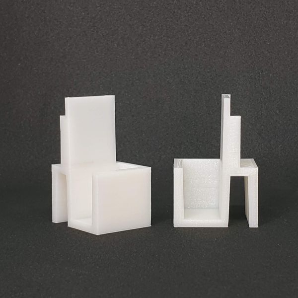 Paire de guides blancs compatibles portes coulissantes de placards form/optimum